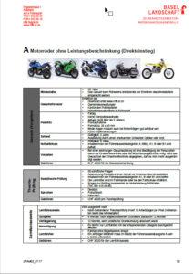 Motorrad Kat. A Direkteinstieg