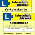 Fahrschule Birseck Gutscheine