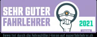 Signet DE Sehr Guter Fahrlehrer 2021
